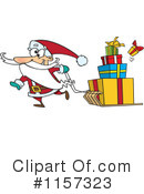Royalty-Free (RF) Santa Clipart Illustration #1157323