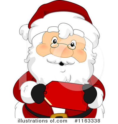 Santa Clipart #1163338 by BNP Design Studio