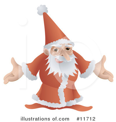 Santa Clipart #11712 by AtStockIllustration