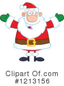 Santa Clipart #1213156 by Hit Toon