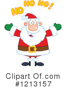 Santa Clipart #1213157 by Hit Toon