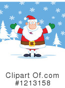 Santa Clipart #1213158 by Hit Toon