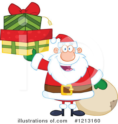 Santa Clipart #1213160 by Hit Toon