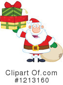 Royalty-Free (RF) Santa Clipart Illustration #1213160