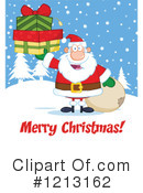 Santa Clipart #1213162 by Hit Toon