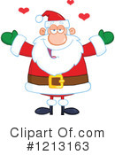 Santa Clipart #1213163 by Hit Toon
