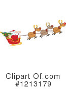 Santa Clipart #1213179 by Hit Toon
