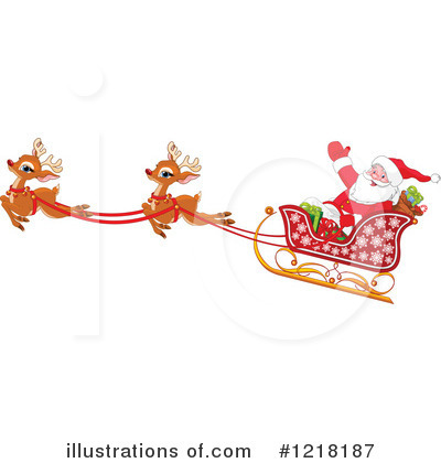 Reindeer Clipart #1218187 by Pushkin