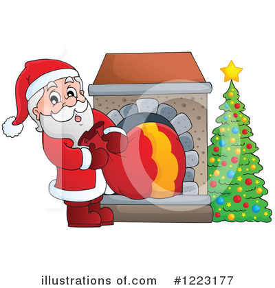 Fireplace Clipart #1223177 by visekart