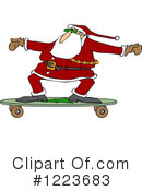 Royalty-Free (RF) Santa Clipart Illustration #1223683