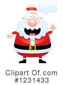 Royalty-Free (RF) Santa Clipart Illustration #1231433