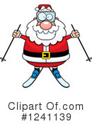 Royalty-Free (RF) Santa Clipart Illustration #1241139