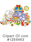 Santa Clipart #1259963 by Alex Bannykh