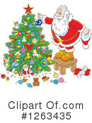 Santa Clipart #1263435 by Alex Bannykh