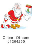 Royalty-Free (RF) Santa Clipart Illustration #1264255