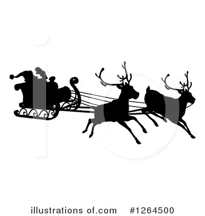 Santa Clipart #1264500 by AtStockIllustration