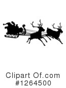 Royalty-Free (RF) Santa Clipart Illustration #1264500