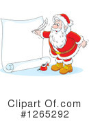 Royalty-Free (RF) Santa Clipart Illustration #1265292