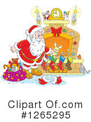 Santa Clipart #1265295 by Alex Bannykh