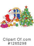 Santa Clipart #1265298 by Alex Bannykh