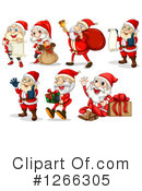 Santa Clipart #1266305 by Graphics RF