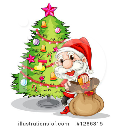 Santa Clipart #1266315 by Graphics RF