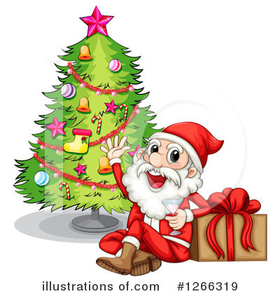Santa Clipart #1266319 by Graphics RF