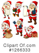 Santa Clipart #1266333 by Graphics RF