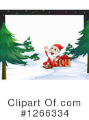 Santa Clipart #1266334 by Graphics RF