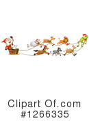 Royalty-Free (RF) Santa Clipart Illustration #1266335
