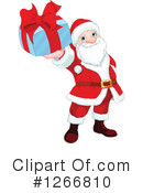Royalty-Free (RF) Santa Clipart Illustration #1266810