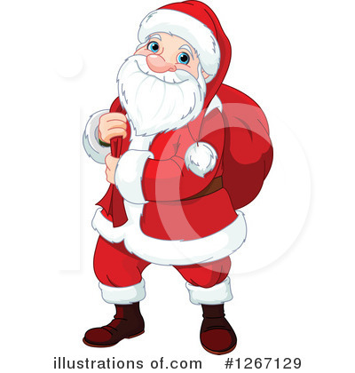 Santa Clipart #1267129 by Pushkin
