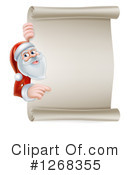 Royalty-Free (RF) Santa Clipart Illustration #1268355