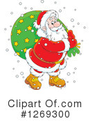 Royalty-Free (RF) Santa Clipart Illustration #1269300