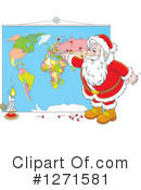 Royalty-Free (RF) Santa Clipart Illustration #1271581