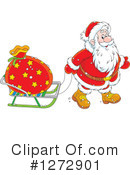 Royalty-Free (RF) Santa Clipart Illustration #1272901