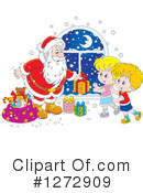Royalty-Free (RF) Santa Clipart Illustration #1272909