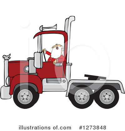 Big Rig Clipart #1273848 by djart