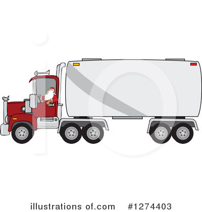 Big Rig Clipart #1274403 by djart