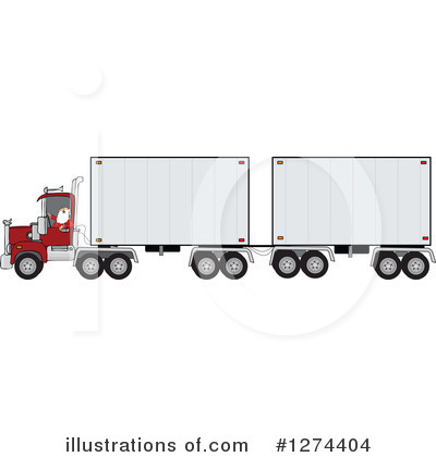 Big Rig Clipart #1274404 by djart