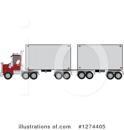 Big Rig Clipart #1274405 by djart