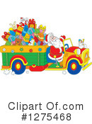 Royalty-Free (RF) Santa Clipart Illustration #1275468