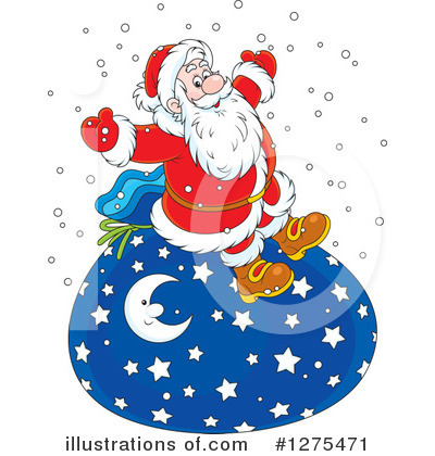 Christmas Clipart #1275471 by Alex Bannykh