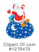 Santa Clipart #1275472 by Alex Bannykh
