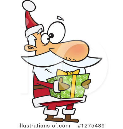 Santa Clipart #1275489 by toonaday