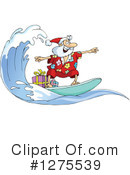 Royalty-Free (RF) Santa Clipart Illustration #1275539