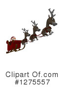 Royalty-Free (RF) Santa Clipart Illustration #1275557