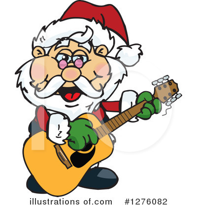Royalty-Free (RF) Santa Clipart Illustration by Dennis Holmes Designs - Stock Sample #1276082