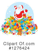 Santa Clipart #1276424 by Alex Bannykh
