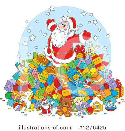 Christmas Clipart #1276425 by Alex Bannykh